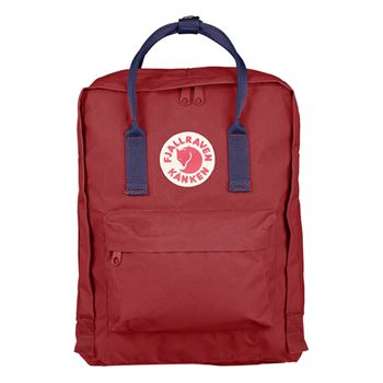 Fjallraven Kanken Classic Ox Red and Royal Blue sales