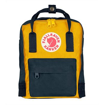 Fjallraven Mini Navy and Warm Yellow sale discount