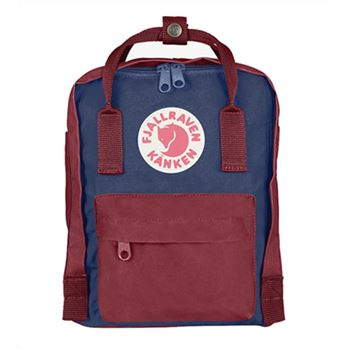 Fjallraven Mini Royal Blue and Ox Red online clearance