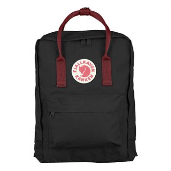 Kanken Classic Black and Ox Red clearance event