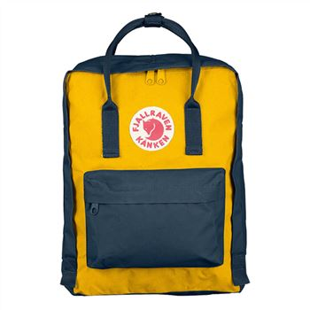 Kanken Classic Navy and Warm Yellow official online sale